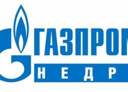 логотип газпром недра
